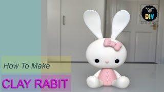 How to make a clay Rabit Cartoon