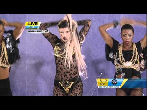 Lady GaGa - Judas - Live at Good Morning America Music Videos