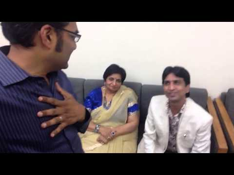 Indore 113 Rajiv Nema Indori meets Doctor Kumar Vishwas