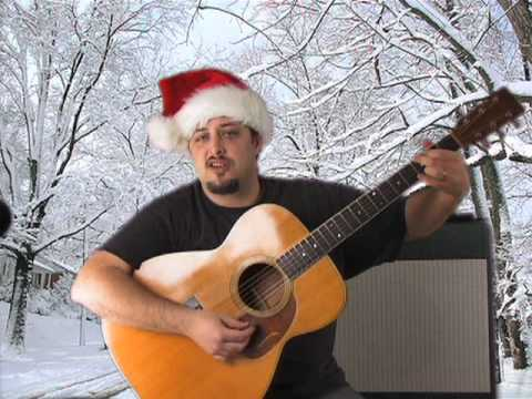 guitar lesson - how to play rudolph the red nose reindeer - learn guitar - easy guitar lesson