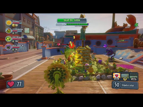 PLANTS VS ZOMBIES GARDEN WARFARE | OPERACIONES DE JARDÍN! GAMEPLAY XBOX 360