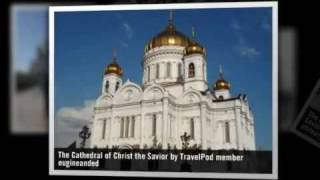 Cathedral Of Christ The Savior Moscow Central Russia Russian Federation
