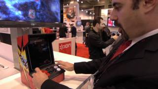 Guardian CES 2011_ iPad turns into arcade console for playing Atari's Asteroids