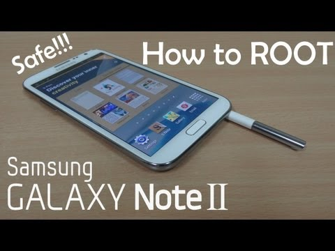 How to Root the Samsung Galaxy Note 2 (Simplest & Safest) GT-N7100 - Cursed4Eva