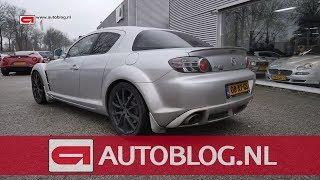 Mijn auto: Mazda RX-8 van Yannick
