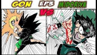 MIDORYA VS GON part 3 (manga cross-over battle) fan-made (ENG\ITA) final round\ROAD TO 1K SUBS
