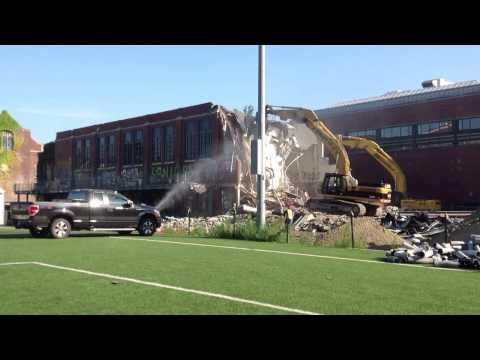 JDC Demolition at Winsor School - 08/19/2013