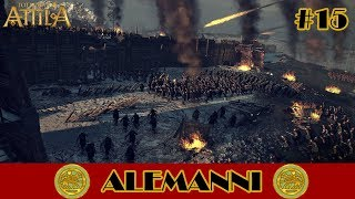 Total War: Attila : Alemáni # 15 - Bitva o Bóju [CZ]