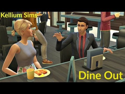 Let's Play The Sims 4 Dine Out | Episode 4 | Staff Night Out