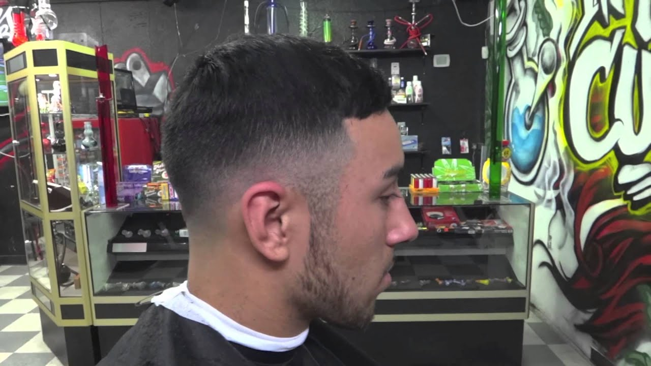 Number 4 fade haircut