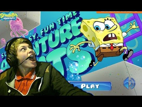 super hard fucking game #1 (spongbob)