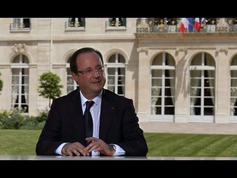 François Hollande expresses optimism about French economy on Bastille Day