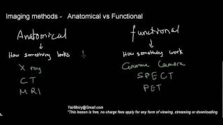 lecture 14 part 3 (Anatomical vs Functional imaging methods)
