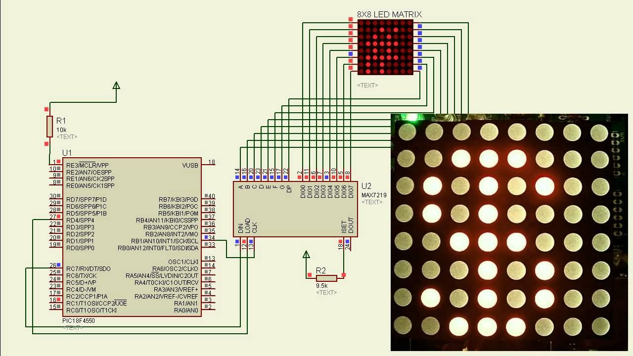MAX7219 7-segment display-Arduino Circuits4youcom