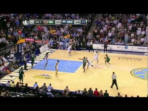 Top 10 plays by Danilo Gallinari (Denver Nuggets)