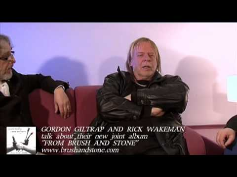 RICK WAKEMAN and GORDON GILTRAP talk about their new album FROM BRUSH AND STONE