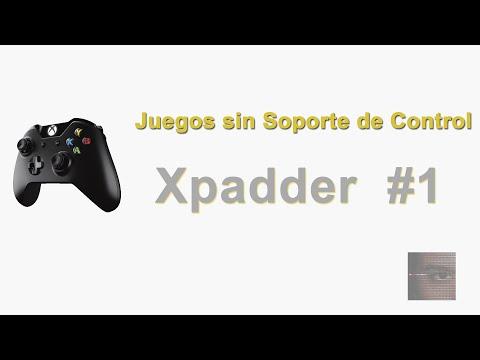 Tutorial configurar [gamepad. mando. joystick. controles. xpadder] Parte 1