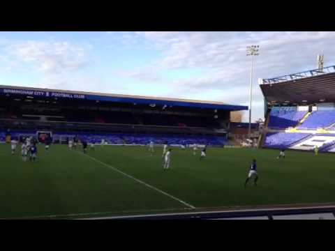 Birmingham City U16 Vs Tottenham Fc at st Andrew Stadium pt