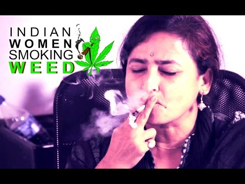 Indian Women Smoke MARIJUANA for the First Time!