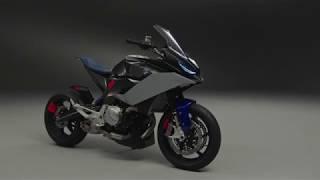 BMW Motorrad Concept 9cento scene1 hd