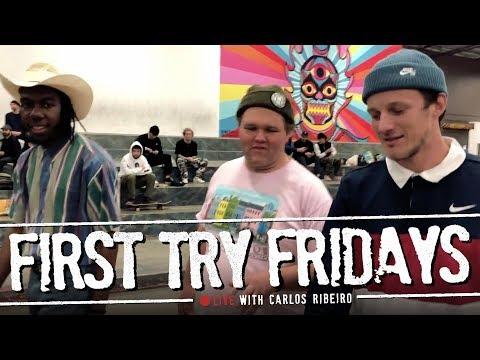 Carlos Ribeiro - First Try Fridays… LIVE!