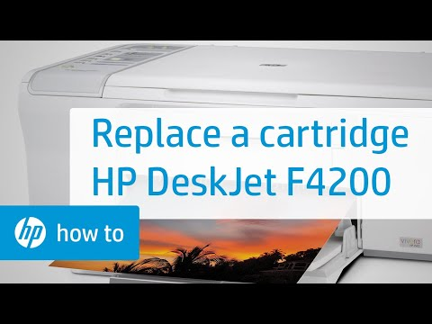 how to clean cartridge on hp f4200