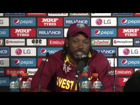 Chris Gayle's Reaction On 215 Vs Zimbabwe In World Cup video