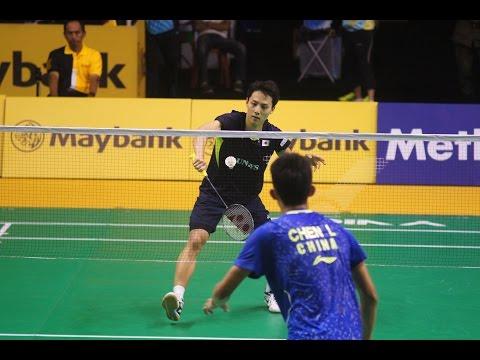 Malaysia Badminton Open 2015 Day 2 #9 MS Rd 1 (Chen Long vs Takuma Ueda)