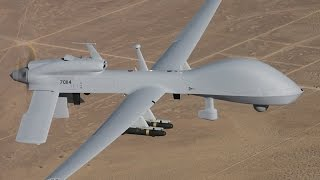General Atomics MQ-1C Gray Eagle with Hellfire Missile