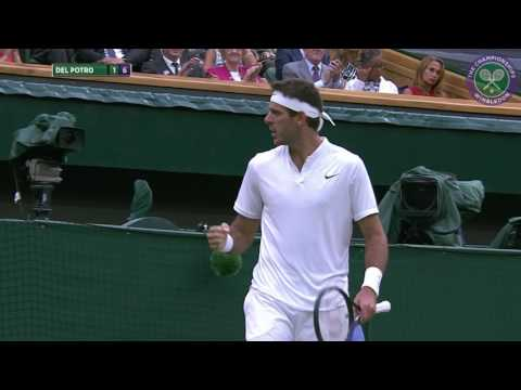 2016, Day 5 Highlights, Juan Martin Del Potro vs Stan Wawrinka