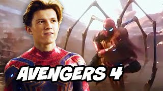 Spider-Man Iron Spider Infinity War Scene and Avengers 4 Upgrades Explained