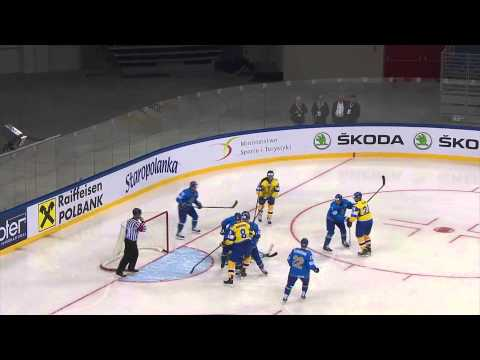 Ukraine vs. Kazakhstan - 2015 IIHF Ice Hockey World Championship Division I Group A