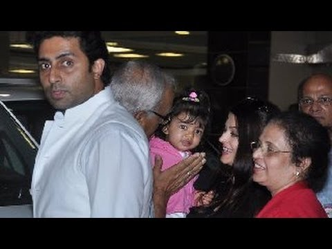Cannes-london-malaysia: Aishwarya Rai & Aaradhya Finally Come Home video