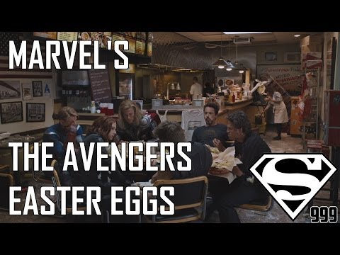 Marvel's The Avengers: Hidden Easter Eggs And Secrets Part # 1 (REUP)