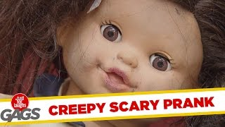 Lalka błaga o pomoc - edycja Halloween