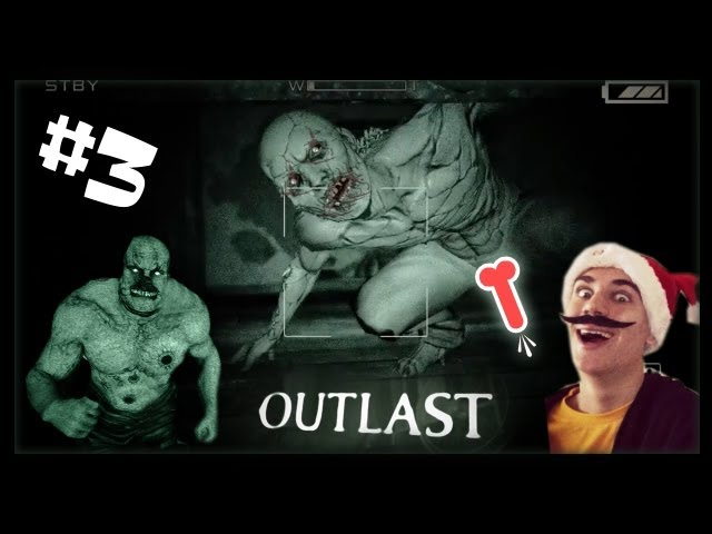 ► Outlast - HORROR HRA - Part. 3 - Špek ma naháňa!!! ◄