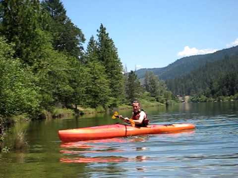 Alex rolling kayak- Lewiston Lake-3