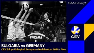 Bulgaria vs Germany FULL MATCH CEV Tokyo Volleyball European Qualification 2020 Men