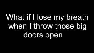 Barbie Rock 'n Royals What If I shine lyrics on screen