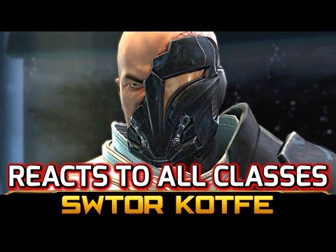SWTOR KOTFE ► ARCANN REACTS TO ALL CLASSES (Knights of the Fallen Empire)