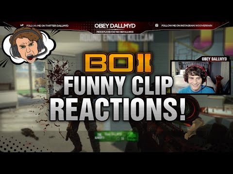 Obey Dallmyd: Funny Clip Reactions! (funny Moments) video