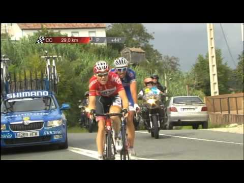 Vuelta Stage 19 - won by Adam Hansen