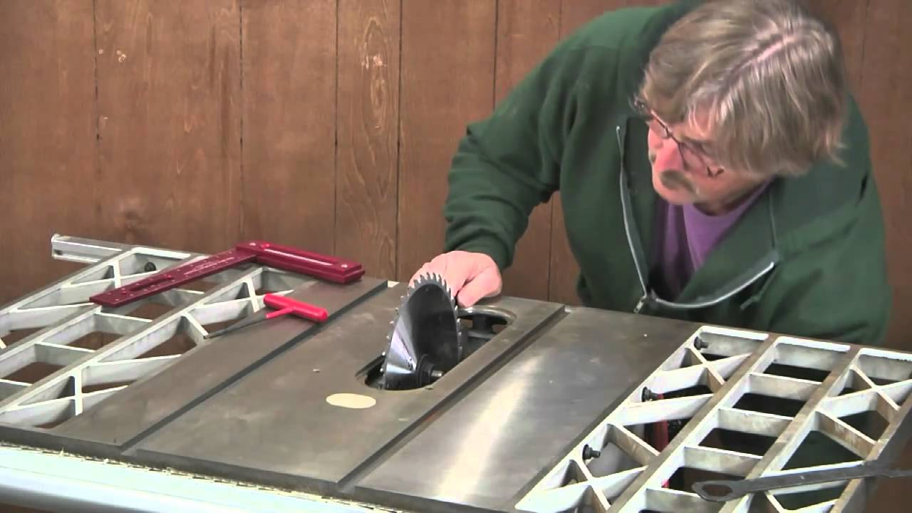 Tune Up Your Table Saw - YouTube