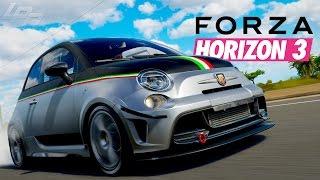 RWD ABARTH 695?! - FORZA HORIZON 3 Part 94   Lets Play