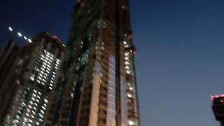 The view of Burj khalifa late evening....