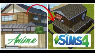 The Sims 4 : speed build // Anime House / Ver Sims 4