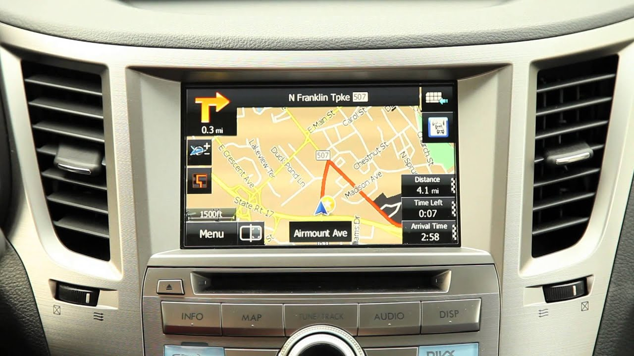 How To Video 2013 Subaru Legacy Navigation System Nj