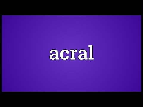 Header of ACRAL