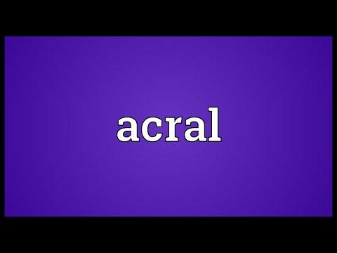 Header of ACRAL