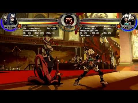 Skullgirls: Exclusive Double Walkthrough Pt. 2
